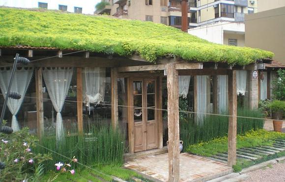 Telhados verdes reduzem os impactos ambientais