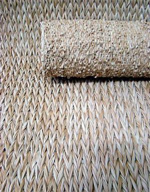 Tapete João-de-Barro da Avanti, feito de filamentos de plástico (Foto: Divulgação/Documennta Comunicação)