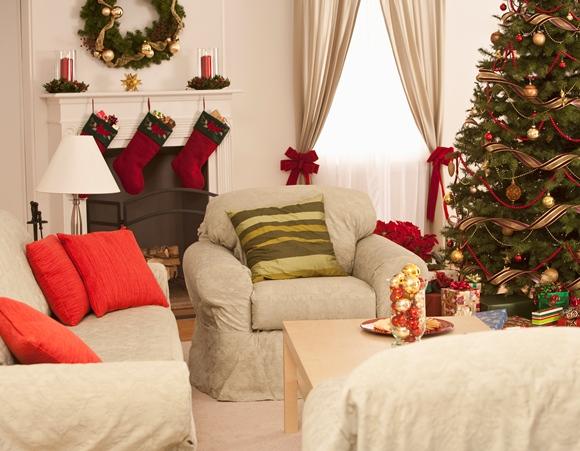 Saiba como enfeitar a sua casa para as festas de final de for Todo en decoracion para el hogar