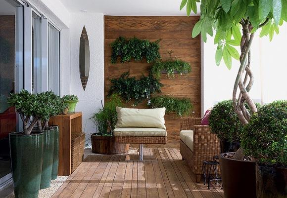 deck em jardim pequeno : deck em jardim pequeno:Filosofia de Interiores: Um jardim para você chamar de 'meu'