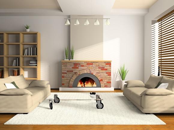 Especial invernolareiras oferecem aconchego decora o for Simple drawing room decoration