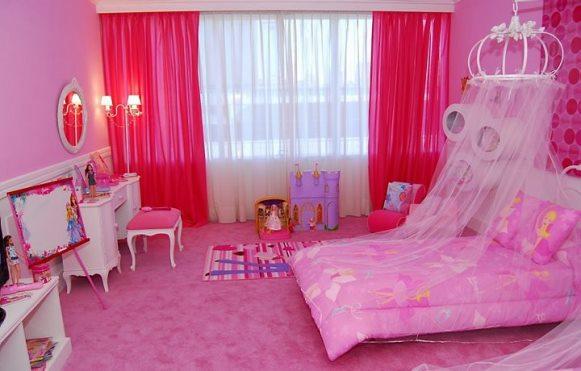 Cor de rosa e detalhes suaves dão o tom ao quarto da  ~ Zap Imoveis Aluguel De Quarto