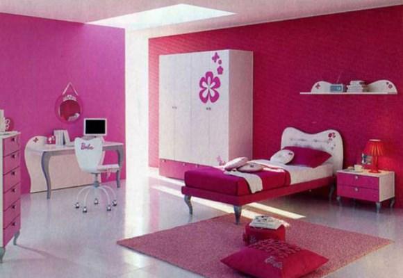 Cor de rosa e detalhes suaves dão o tom ao quarto da  ~ Tinta Rosa Quarto