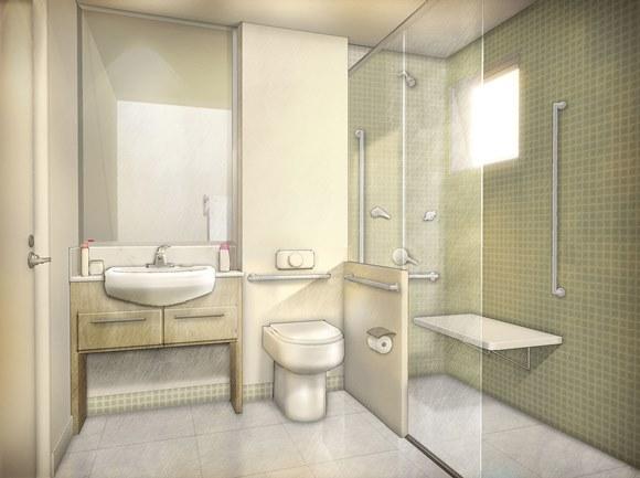 Veja 10 dicas para adaptar a casa para portadores de deficiência física  ZAP -> Banheiros Simples Para Idosos