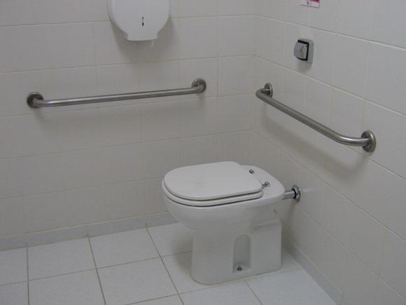 Barras Baño Adaptado:Veja 10 dicas para adaptar a casa para portadores de deficiência