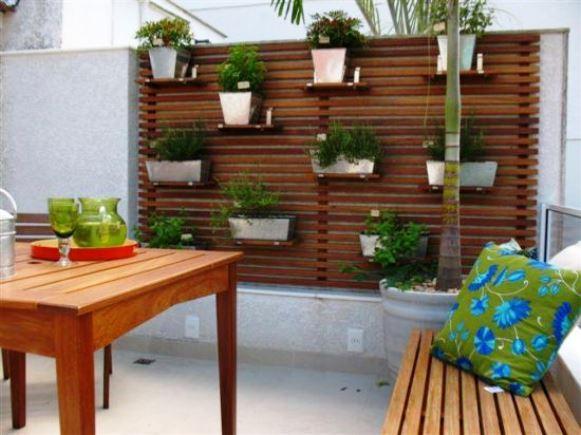 mini jardim de temperos : mini jardim de temperos:Horta Em Apartamento