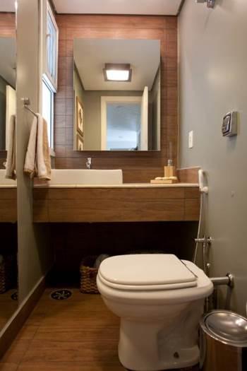 Veja dez opções de pias e bancadas para o banheiro da sua casa -> Saia Para Pia De Banheiro