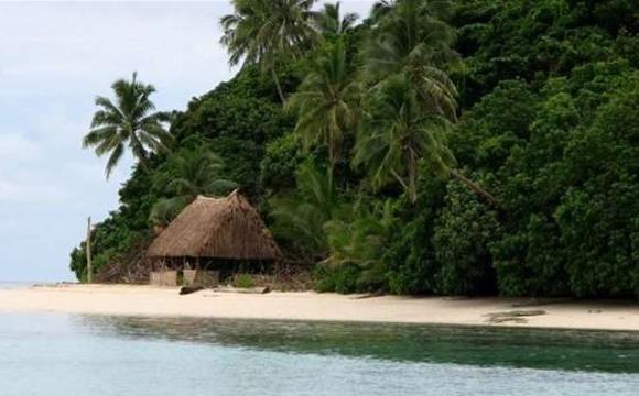 Região tem um 1km de praia de areias brancas