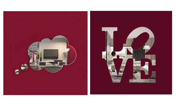 Espelhos da loja Rodo Design saem por R$ 60,00
