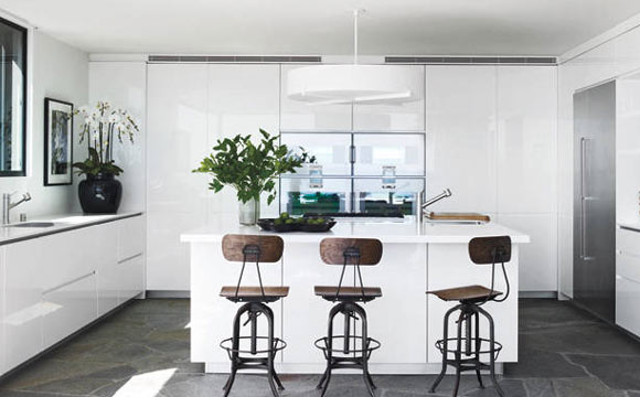 Portal 3 2 1 decora o a cozinha dos famosos - White kitchen ideas that work ...