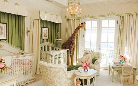 Habitacion habitaciones de bebes famosos : Conheu00e7a a decorau00e7u00e3o do quarto de bebu00eas famosos