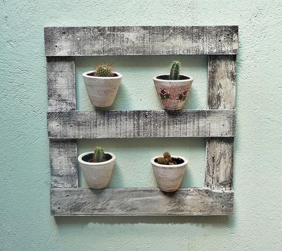 Com um pouco de criatividade e um simples pedaço de madeira é