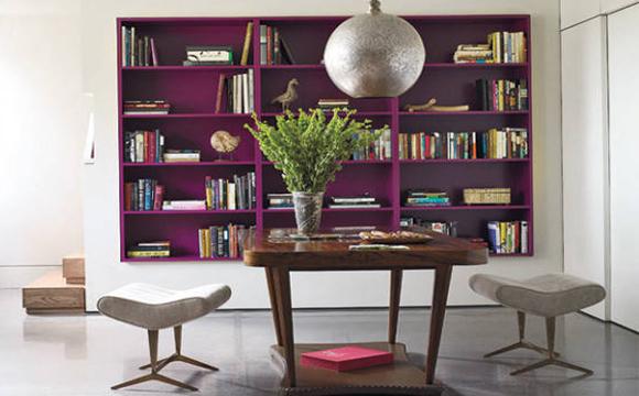 Livros são objetos decorativos que transmitem personalidade