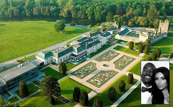 Hotel luxuoso na Irlanda tem diária a R$ 149 mil em suíte presidencial (Fotos: Reprodução/Daily Mail)