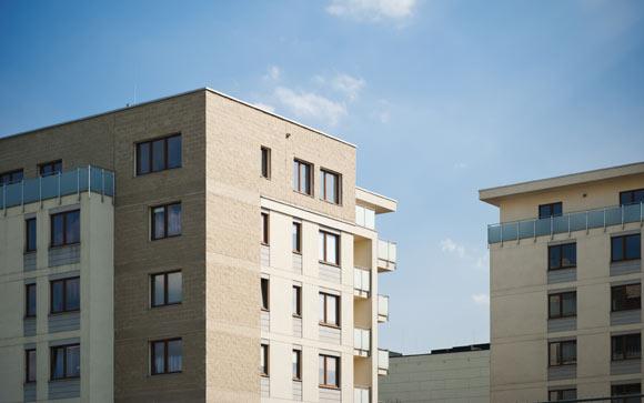 """Condomínios residenciais """"econômicos"""" possuem, no geral, duas torres(Fotos: Shutterstock)"""