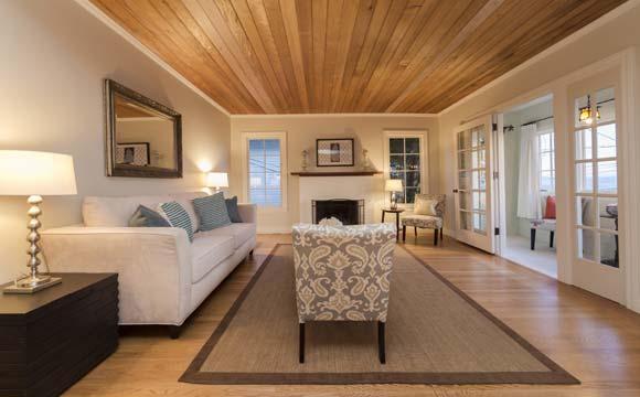 Tetos de madeira dão um charme a mais à decoração de casa (Fotos: Shutterstock)
