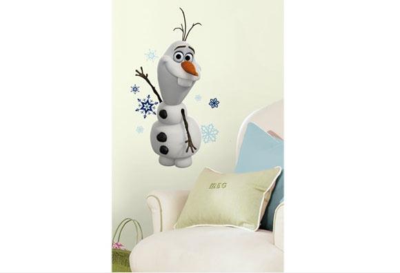 Adesivo De Parede Da Frozen ~ Quarto da Frozen Veja como decorar
