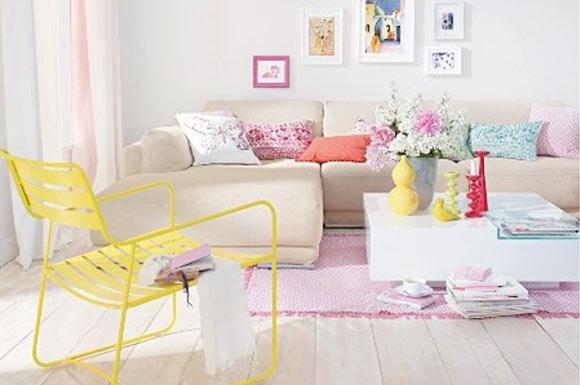 candy colors na decoração
