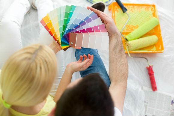 A quantidade de cores é enorme, por isso, ouça opiniões de pessoas experientes