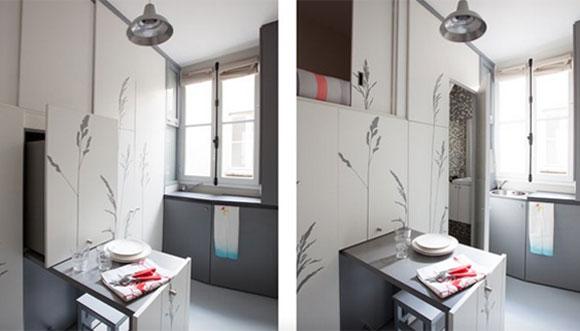 Apartamento De 8 Metros Quadrados Tem Sala Cozinha E Quarto Embutidos