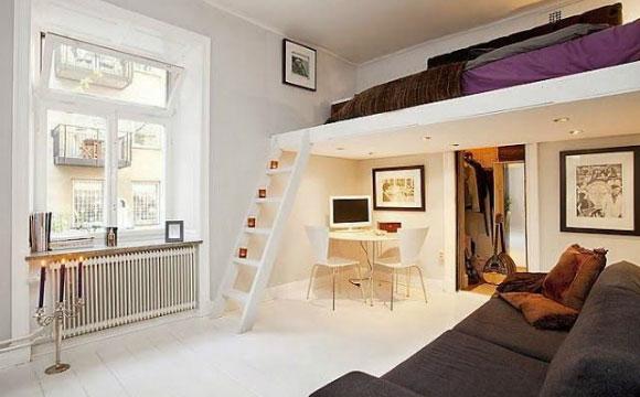 Cama suspensa é uma ótima ideia para ganhar um ambiente diferente na sua casa (Fotos: Reprodução/Pinterest)