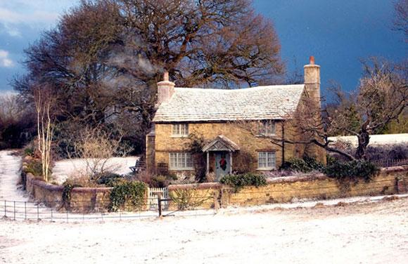 Casa do filme O amor não tira férias (Foto: Reprodução - Country Living)