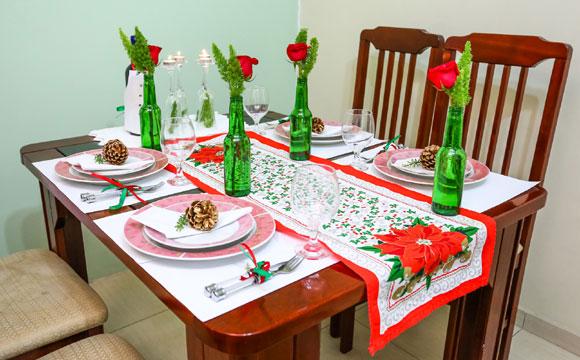 Inspire-se para montar a mesa de Natal deste ano (Fotos: Rafael Munhoz)