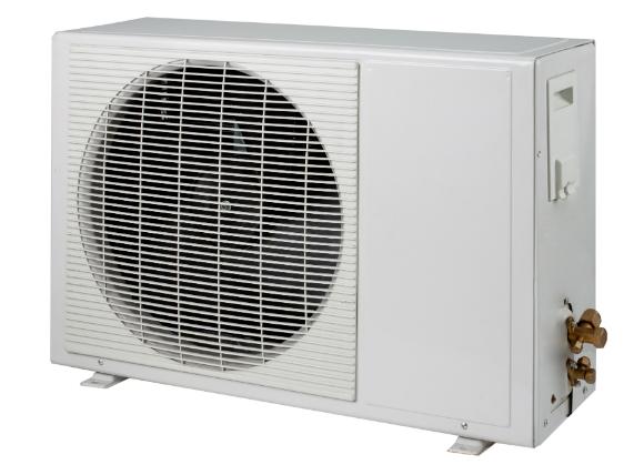 Condensadora deve ser instalada de pé, em local bem arejado e, de preferência, onde não pegue sol direto
