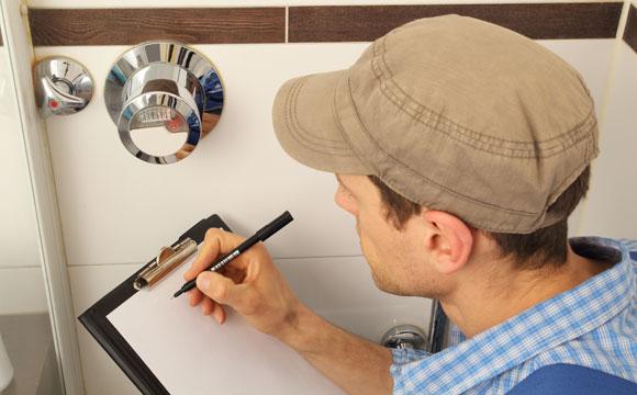 Coloque um registro para cada ambiente da casa que tenha água