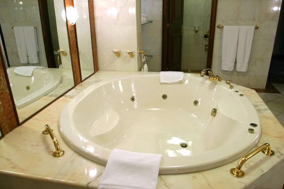 Ter uma banheira em casa