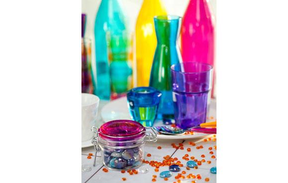 copos coloridos de carnaval