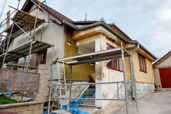 Reforma de casa com segurança