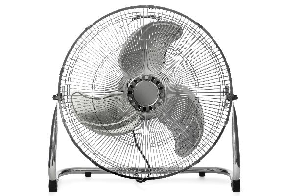 Quanto mais pás o ventilador tem, mais vento ele faz