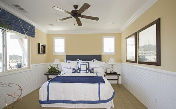 ventilador de teto espalha a brisa por todo o ambiente e gera climatização (Fotos: Shutterstock)