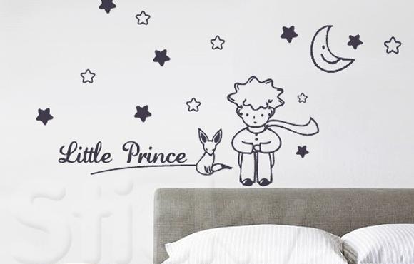 Adesivo parede O Pequeno Príncipe