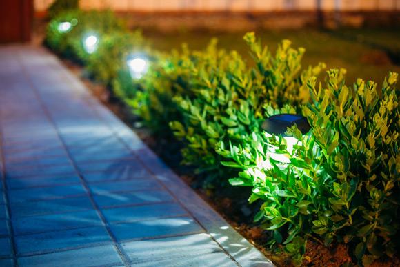 O importante na iluminação em jardim é transmitir a cor da natureza de maneira simples (Foto: Shutterstock)