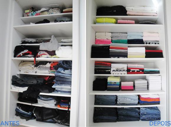 Ganhe mais espaço no quarto com a organização do guarda-roupa (Foto: divulgação)