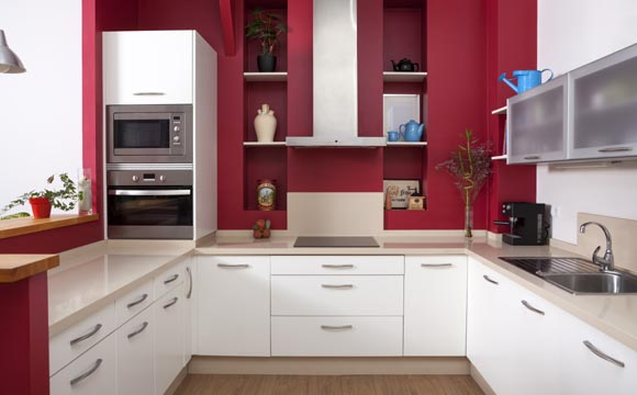 white cabinets kitchen with Saiba  O Escolher E Instalar Cooktop Em Sua Cozinha on Edward Hopper White Bedside Table 3 Drawer further Watch together with White Cabi s With Dark Granite Countertops besides Black And White Kitchen Design also Caesarstone 4600 Organic White.