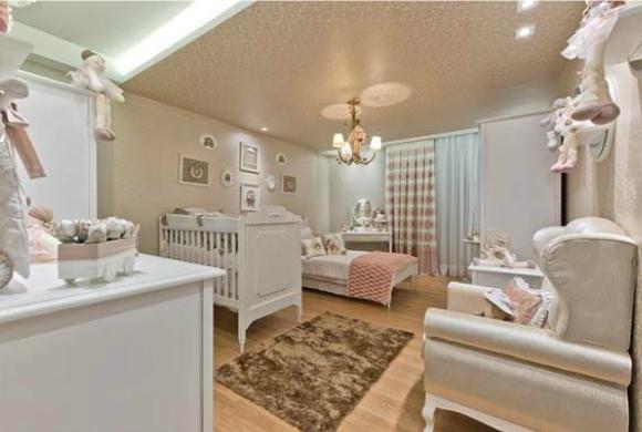 decoracao de interiores estilo romântico:Quarto de Bebê – Veja decoração de Quarto de Bebê Completo
