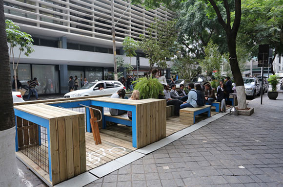 parklet na avenida paulista