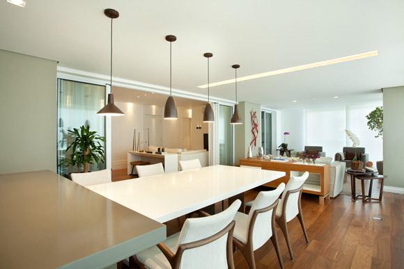 Projeto de iluminação bem feito traz conforto aos ambientes da casa (Foto: projeto de Liliana Zenaro)