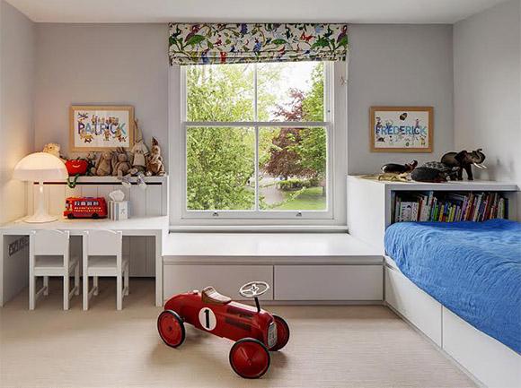 Procure manter o equilíbrio na decoração do quarto de menino (Foto: Arkpad