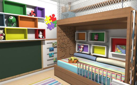 revisteiro quarto de criança