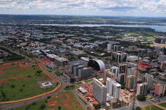 Local de destaca por ser um local calmo, arborizado, com boa localização e ainda em expansão imobiliária (Fonte: Mary Leal/ Agência Brasília)