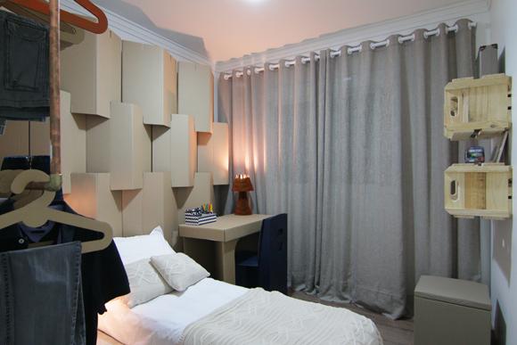 Revista do Zap mostra como fazer decoração de quarto sustentável (Foto: Reprodução/Vídeo)
