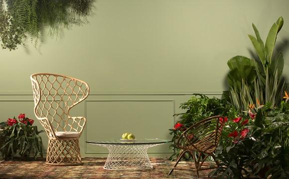 O verde Água-marinha é a cor eleita pela Suvinil para o próximo ano (Foto Divulgação)