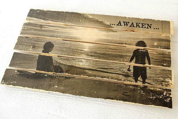 Aprenda a passar fotos para madeira e transforme a peça em quadro