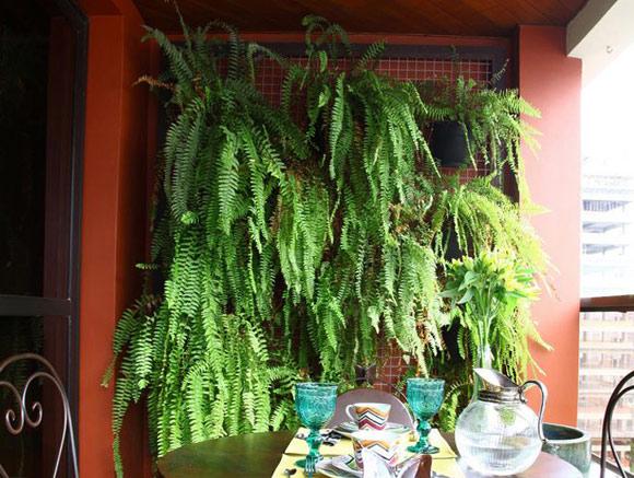 jardim vertical de varanda (Foto ReproduçãoBlog Casa de Valentina
