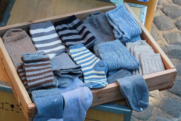 Utilize gavetas para guardar meias e cuecas (Foto: Shutterstock)