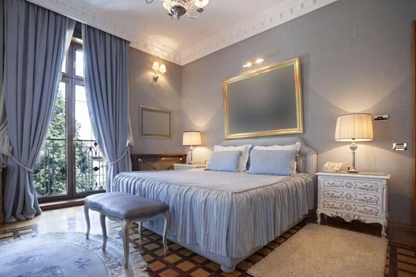 Quarto de hotel pode até ter um estilo mais retrô (Foto: Shutterstock)